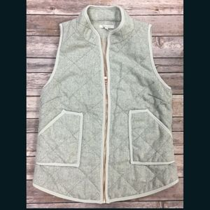 Anthropologie Hawthorne Vest Women's Small